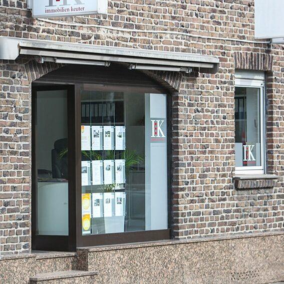 Das Büro von Immobilien Keuter GmbH